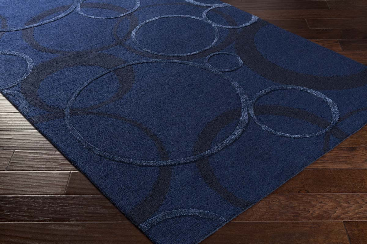 Artistic Weavers Alexander AXR-2350 Ross Navy Blue Royal Blue Rug